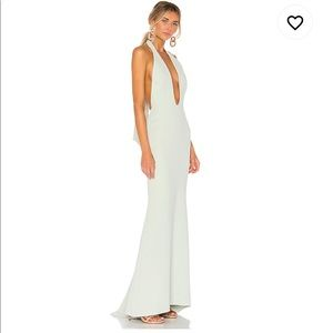 NWT NBD Jenny From The Block Gown in Mint Size XXS